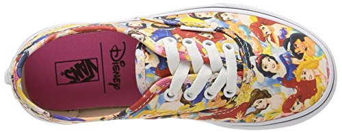 Vans - K Authentic Disney, Sneaker Unisex – Bambini Multicolore (Disney/Multi Princess)