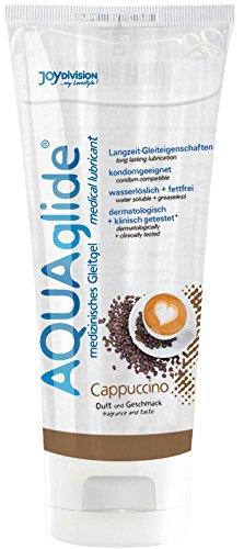 JOYDIVISION Aquaglide Cappuccino, 1er Pack (1 x 100 ml)