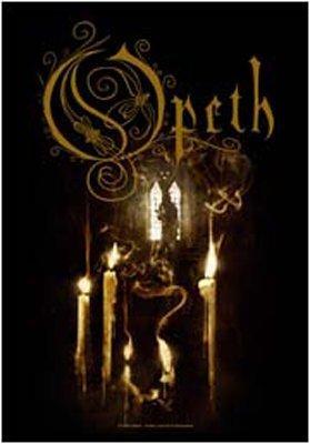 Licenza ufficiale Opeth Ghost Reveries bandiera di materie tessili
