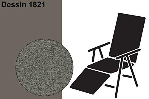 Best STS 175x50x7 cm, D.1821 Polster, Polsterauflage, Sesselauflage, Stuhlauflage, Relaxpolster,...