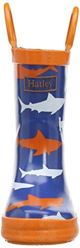 Hatley Sharks, Pluie Garçon Bleu (Blue)