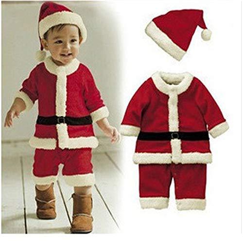 (Kinderweihnachten spielt Weihnachtsmann-Kostüme (Design : A1-Men, größe : 80cm))