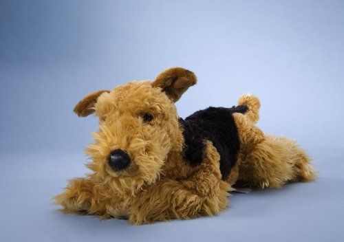 EBO 40065 - Airedale Terrier, liegend, 42 cm
