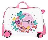 Movom Happy Time, Valigia per bambini, 50 cm, Multicolore (Butterfly)