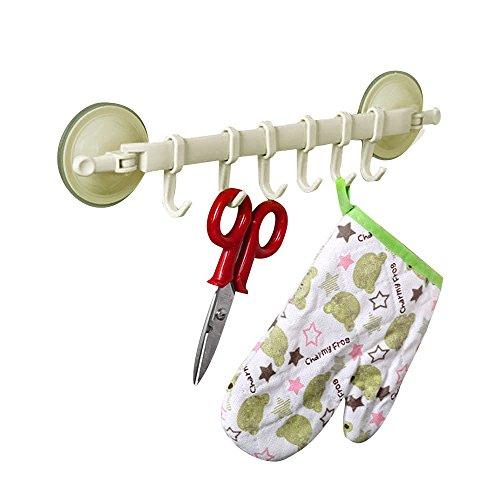 Hochleistungswand-Berg-Speicher-Organisator-Werkzeug-Aufhänger Elecenty Haken Hook Hochwertige Abendessen-Energie-Vakuum-Sauger-Standplatz-Haken (Der Bad Tür Speicher über)