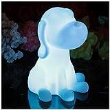 Nachtlampe Kinderzimmer Schlafzimmer - LED Stimmungslicht Nachtlicht Kinder Baby Sensorisches Spielzeug Hund PK Green