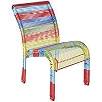 Preisvergleich für Aubry Gaspard Kinderstuhl aus Polyresin, Mehrfarbig