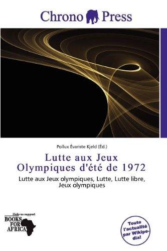 Lutte Aux Jeux Olympiques D' T de 1972