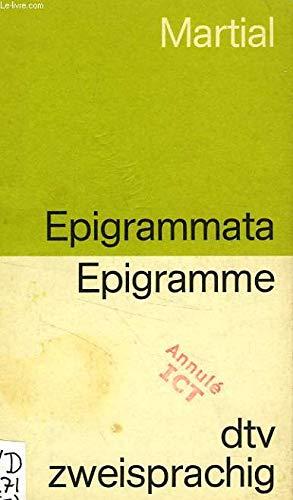Epigramme / Epigrammata. Deutsch - Lateinisch.
