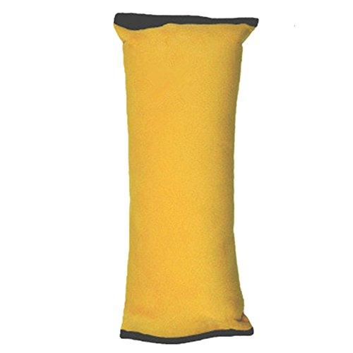 Haodou Auto Sicherheit Gürtel Kissen Schlafkissen Schulterpolster für Kinder Baby Kopf Support Kissen Gelb