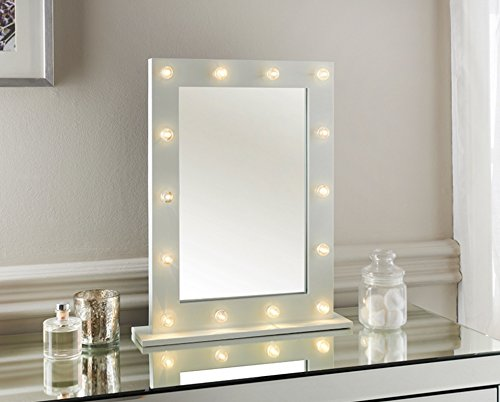Dressing table with lights amazon
