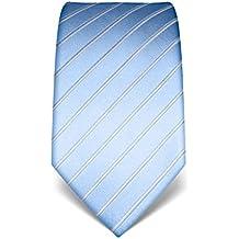 VB–Cravatta Uomo Seta a Righe Tono Su Tono–Molti colori disponibili