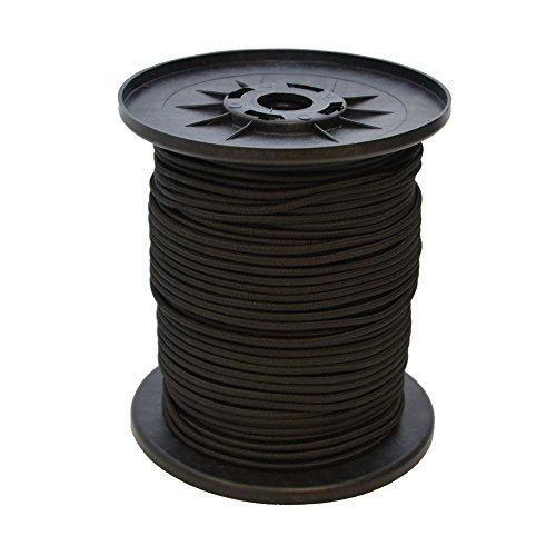 Expanderseil 10 m Schwarz 8 mm Gummiseil Gummischnur Spannseil Planenseil Gummileine elastisches Seil spannen und befestigen