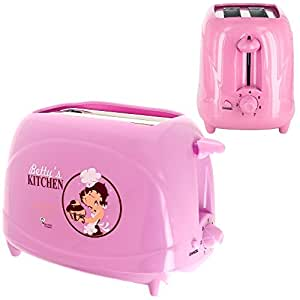 Betty Boop -Grille Pain Toaster Petit Déjeuner Tartine Betty Boop Déco Cuisine Tendance Rose