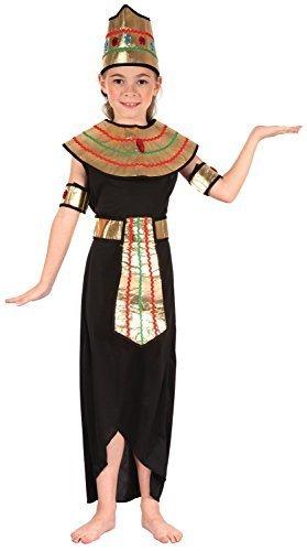 �nigin des Nils Welttag des Buches Woche Historische Lineal Karneval Ägypten um die Welt Kostüm Kleid Outfit 4-12 Jahre - 7-9 years (ägyptische Königin-kopfbedeckung)