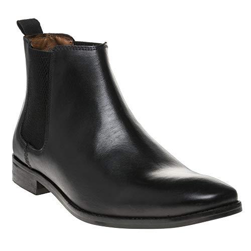 Base London Open Homme Boots Noir