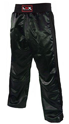 """LNX Kickboxhose """"X-Mesh"""" schwarz/schwarz (001) M"""