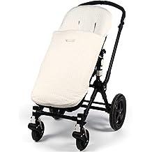 Pasito A Pasito - Funda universal elodie para silla de paseo con saco beige