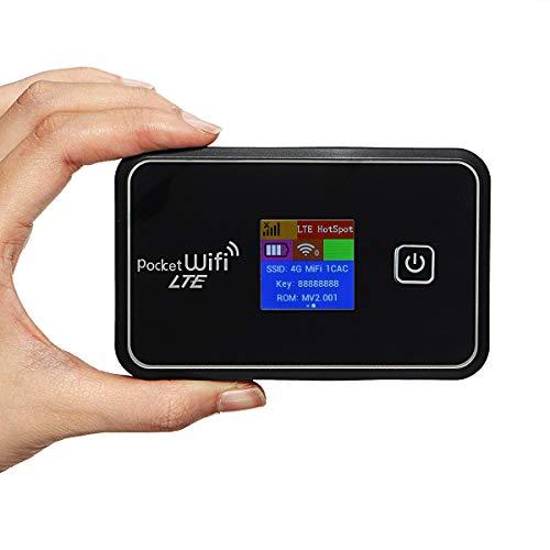Wooya 6 In 1 Portable 4G Mobile WiFi Modul Mifi Wireless Pocket Hotspot Router Broadband LCD