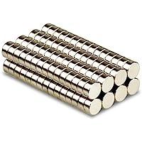 Magnetastico® | Lot de 25 aimants néodymes N52 disque 6x2 mm | Magnet pour réfrigérateur Magnet pour tableau d'affichage…