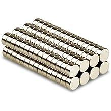 Magnetastico® | 10 pezzi magneti al neodimio N52 dischi 10x3 mm | Magneti forti | Magnete da frigorifero Calamita da bacheca Magnete permanente Magnete per lavagna interattiva