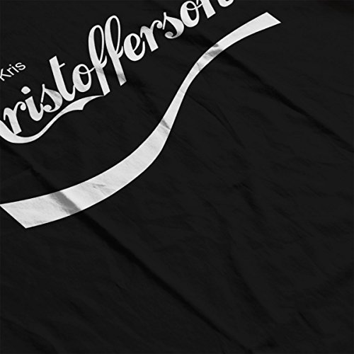 Kris Kristofferson Coke Logo Women's Vest Black