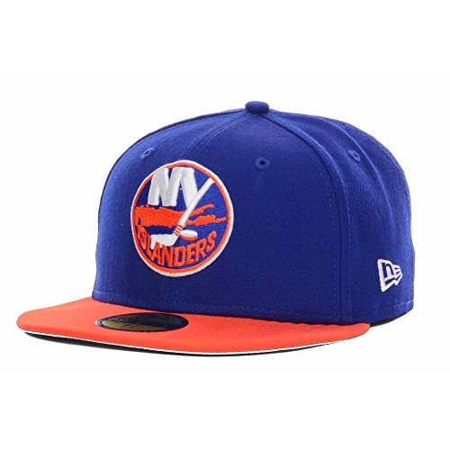 New Era New York Islanders 2-Tone 59FIFTY Fitted NHL Cap 7 3/8 (New York Islanders-hüte)