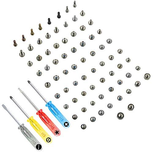 MMOBIEL Komplettes Schrauben Set Kit Ersatz für iPhone 8 Series 4.7 inch mit jeweils 2 x Unterseite Pentalobe Schrauben (Weiß/Schwarz/Jet Black/Gold/Rose Gold) inkl. 4 x Schraubenzieher (Weiß 2 Schrauben)