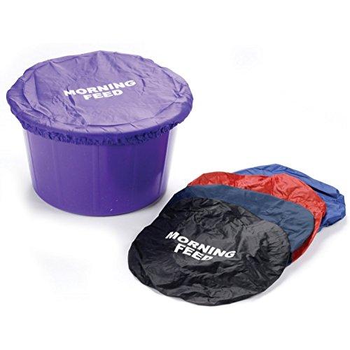 Yard Bucket (Futtereimer-Abdeckung für die Morgenfütterung, Rot)