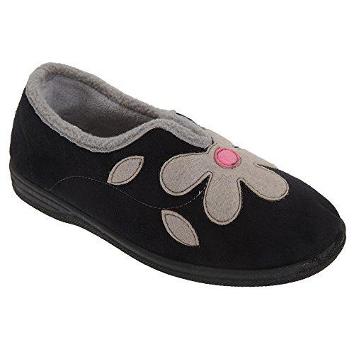 Pantofole da Casa Invernali - Donna Blu navy