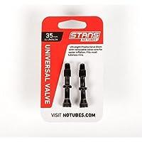 NoTubes Universal Ventil Aluminium, schwarz bis zu 8mm Ventilloch