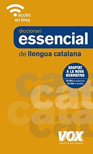Diccionari Essencial de Llengua Catalana (Vox - Lengua Catalana) por Vox Editorial