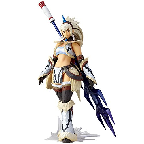 Monster Hunter X Vulcanlog Monhan Revo Action Figure Hunter Swordswoman Kirin Se