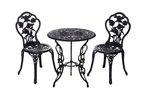 Hochwertiges aufwendig gearbeitetes Tisch Set, 15240/C1 547 stabiles Gartenmöbel Set, Balkonset,...