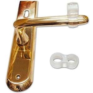 Salvamaniglia paracolpoper maniglia ad anello in gomma for Maniglie porte oro