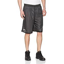 Joma - Short basket reversible rookie negro-blanco para hombre