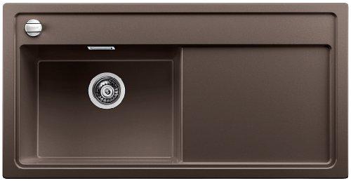 Preisvergleich Produktbild Blanco Zenar XL 6 S-F Cafe Granitspüle Küchenspüle Spültisch Braun flächenbündig