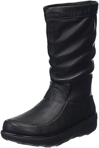 FitflopLoaff Knee - Stivali donna , Nero (Nero),38