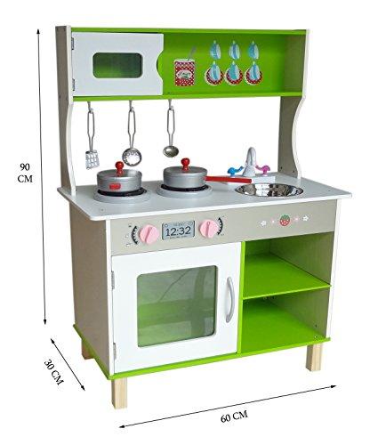 Kiddi Style Cocina Madera Infantil - Cocina Juguete