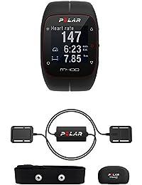 Polar Unisex-Armbanduhr Digital Quarz Plastik Equine M400 Schwarz