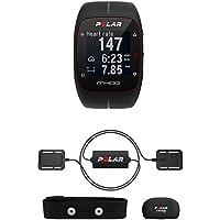 Polar Unisex-Armbanduhr Digital Quarz Plastik Equine M400 schwarz, 93054812