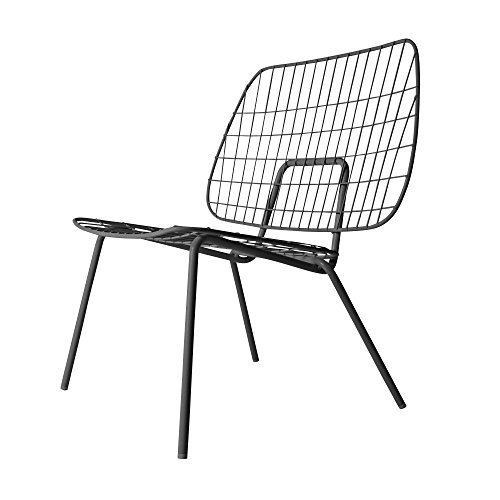 Menu - WM String Lounge Chair, schwarz (String Chair)