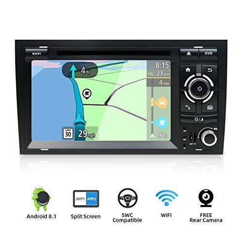 YUNTX Android 8.1 Car Radio de navegación GPS Para Audi A4 (2003-2011)...