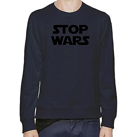 Stop Wars Star Wars Sudadera Hombres Mujeres