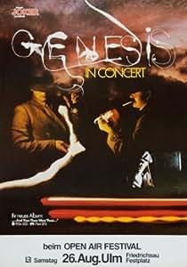Genesis reproduction Concert photo affiche no.2 40x30cms