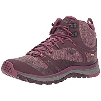 KEEN Women's Terradora Mid Wp High Rise Hiking Shoes 5
