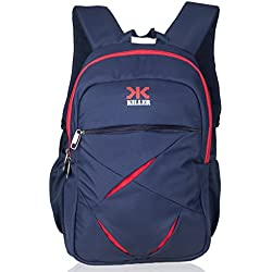 Killer Lister Laptop Backpack for 15.6 inch Laptop - Trendy Everyday Carry College Backpacks For Boys - Navy Blue