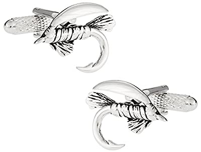 Fly Fishing Cufflinks for Fisherman by Cuff-Daddy