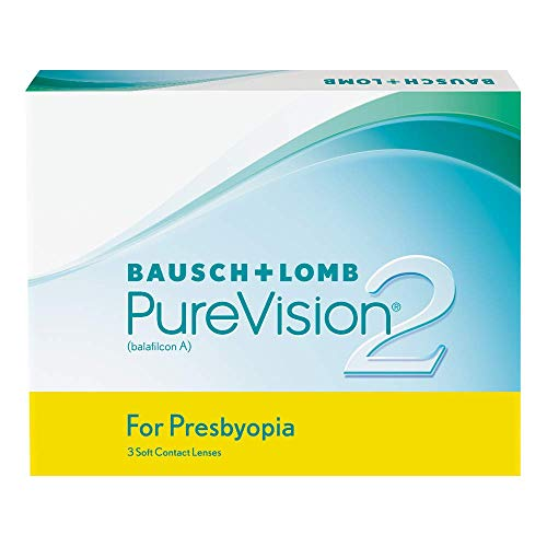 PureVision2 HD for Presbyopia Monatslinsen weich, 3 Stück / BC 8.6 mm / DIA 14.0 / ADD LOW / -02.00 Dioptrien