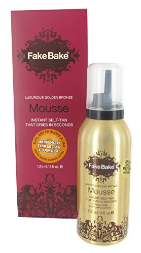 Fake Bake Self Tan Mousse Auto-Bronzante 120 ml